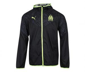 OM Warm Up Hooded Jacket Black