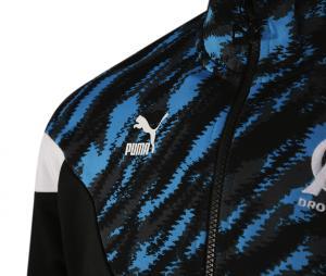 OM Iconic Graphic Jacket Black/Blue