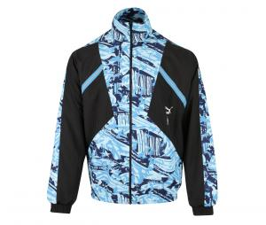 OM Woven Jacket Black/Blue