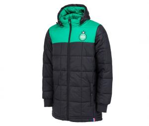 Parka AS Saint-Etienne Fan Noir/Vert