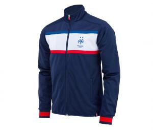 Veste France Fan Bleu