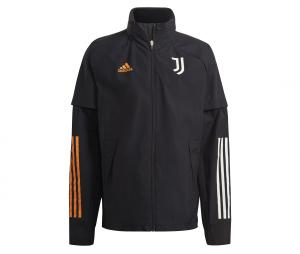 Veste à capuche Juventus All-Weather Noir