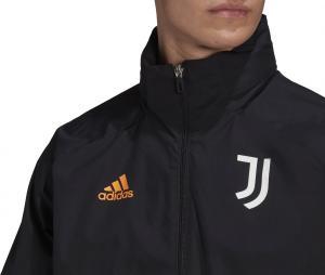 Veste à capuche Juventus All-Weather Noir
