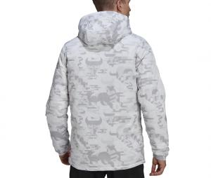 Veste à capuche adidas Real Madrid CNY Padded Blanc/Gris