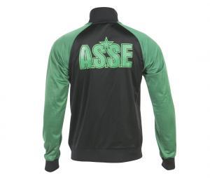 Veste Fan ASSE Noir/Vert Junior