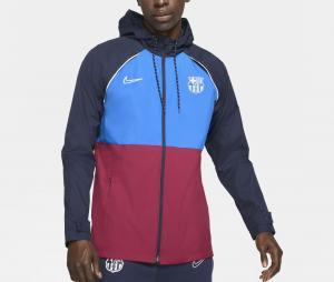 Veste à capuche Barça Academy AWF Rouge/Bleu
