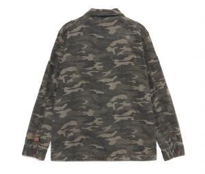 Veste Kaporal x OM Camouflage Vert