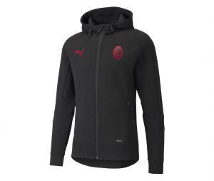 Veste à capuche AC Milan Casuals Noir