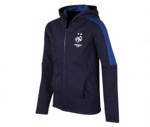 Veste France Fan Bleu Junior