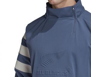 Sweat à capuche All Blacks Bleu