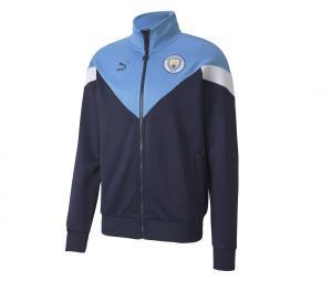 Veste Manchester City Iconic Bleu