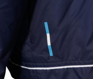 Veste coupe-vent OM Bleu
