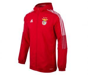 Coupe-vent à capuche Benfica Rouge