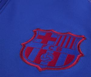 Training Top Barça Strike Drill Bleu