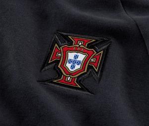 Sweat à capuche Portugal Noir