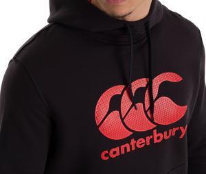 Sweat à capuche Canterbury Noir