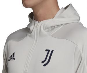 Training top à capuche Juventus Gris