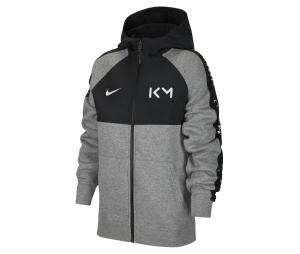Veste Kylian Mbappé Fleece Gris Junior