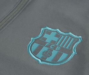 Training Top Barça Strike Drill Gris Junior