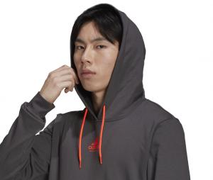 Sweat à capuche adidas Handball Gris