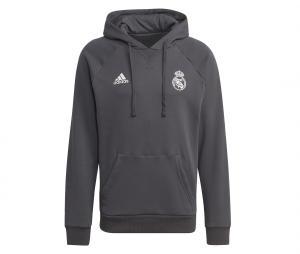 Sweat à capuche Real Madrid Travel Gris