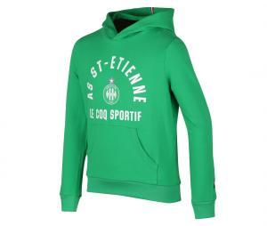 Sweat à capuche AS Saint-Etienne Vert Junior
