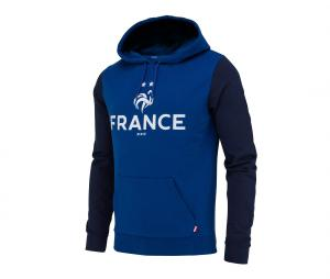 Sweat à Capuche France Fan Bleu Junior