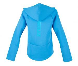 Chaqueta con capucha OM Casuals Azul Mujer