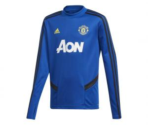 Training Top Manchester United Bleu