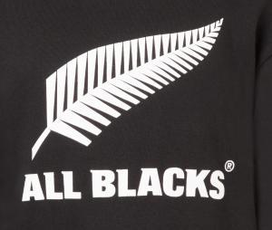 Sweat à capuche All Blacks Noir Junior