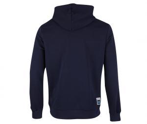 OM Word Hooded Sweater Blue
