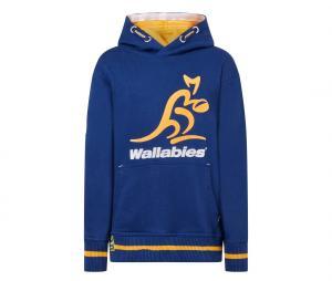 Sweat à capuche Wallabies Bleu Junior