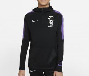 Sweat à capuche Nike Kylian Mbappé Noir Junior
