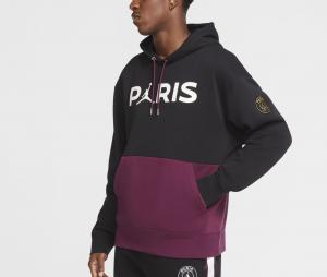 Sweat à capuche Jordan x PSG Noir/Violet