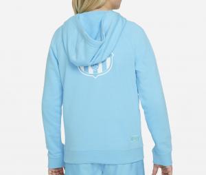 Sweat à capuche Barça Sportswear Bleu Junior
