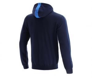 Sweat à capuche Ecosse Bleu