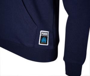 OM Core Kid's Hooded Sweatshirt Blue