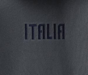 Sweat à capuche Italie Travel Gris