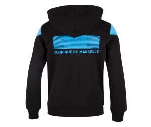 OM Culture Kid's Hooded Jacket Black