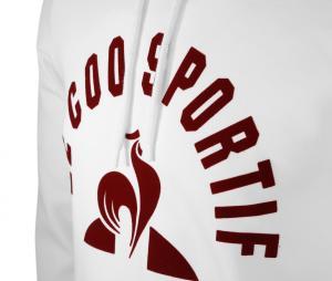 Sweat à capuche Le Coq Sportif Blanc