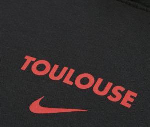 Sweat à capuche Stade Toulousain Noir