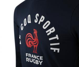 Sweat-shirt France Rugby Bleu