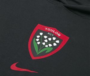 Sweat à capuche RC Toulon Noir