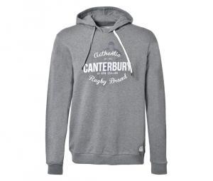 Sweat à capuche Canterbury Riwaka gris