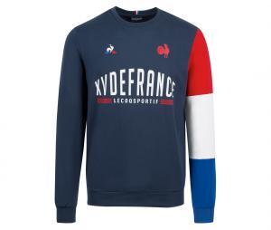 Sweat-shirt France Rugby XV de France Bleu