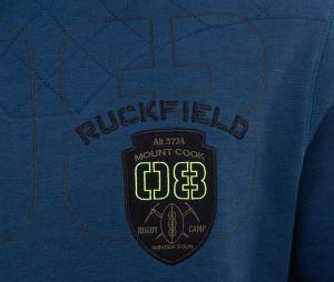 Sweat à capuche Ruckfield Bleu
