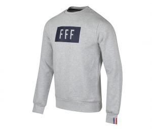 Sweat-shirt France Cartouche Gris