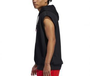Sweat à capuche sans manche adidas Donovan Mitchell Issue #2 Noir