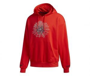 Sweat à capuche adidas Donovan Mitchell Issue #2 Rouge
