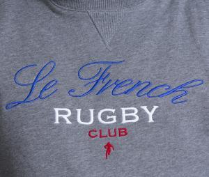 Sweat-shirt Ruckfield France Gris